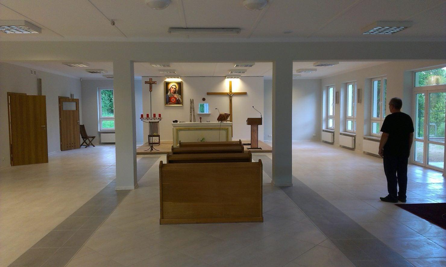 Kaplica w budowie