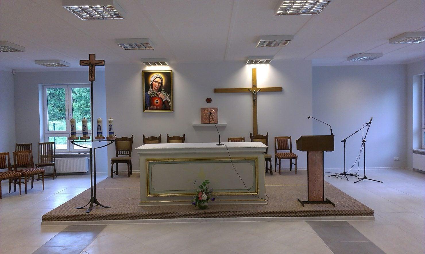 Kaplica wewnątrz
