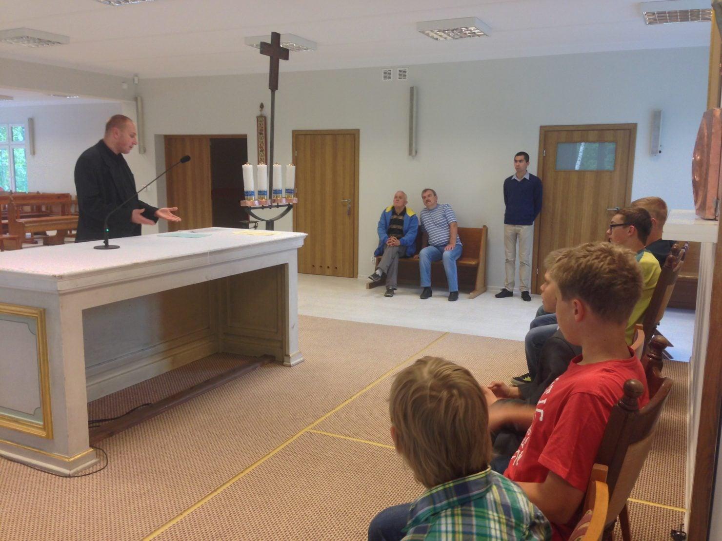 Pierwsze spotkanie ministrantów