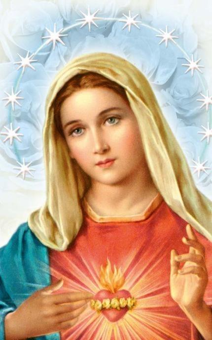 Obrazy Niepokalanego Serca Najświętszej Maryi Panny