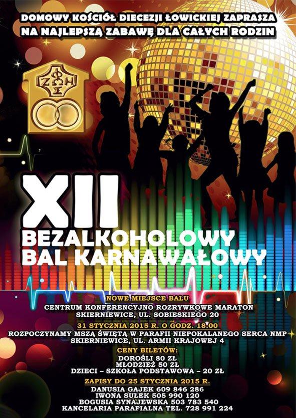 XII Bezalkoholowy Bal Karnawałowy