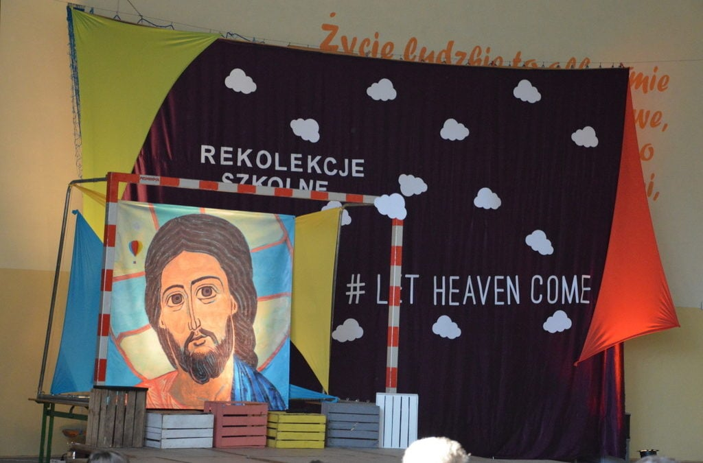 Rekolekcje szkolne w Ekonomiku – #LET HEAVEN COME